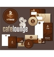 Cafe Lounge Corporate Design vector image vector image