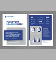 layout template design vector image