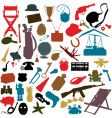 random objects vector image