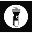 flash light icon design vector image