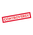 Controversy rubber stamp vector image