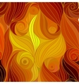 wave background of drawn lines vector image