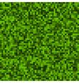 Green Pixel Background vector image
