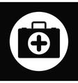 medical kit design vector image