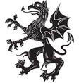 griffin heraldry symbol vector image