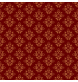 brown vintage seamless pattern vector image