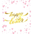 Happy Easter Lettering Egg vector image