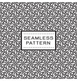 seamless pattern with floral line concept on vector image