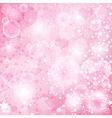 Gentle pink valentine background vector image vector image
