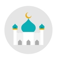 Mosque icon flat vector image