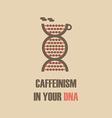 147caffeine in dna vector image