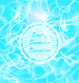 Summer Water Reflections vector image