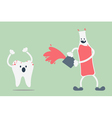 teeth problem from soft drink vector image