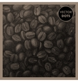 Coffee Beans Vintage Pattern vector image