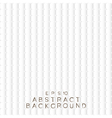Abstract background white paper squares vector image