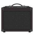 Electric Guitar Amplifier vector image