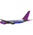 Airplane toy vector image