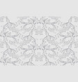 damask baroque pattern background ornament decor vector image