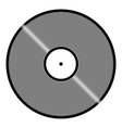 disk icon vector image