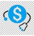Financial Health Icon vector image