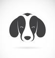 Dog beagle vector image