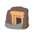 Mine cartoon icon vector image