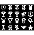 Competition  Success Bicolor Icons vector image