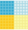 Simple Grid Pattern vector image vector image