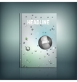 Abstract Brochure Cover vector image