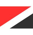 Flag of Sealand vector image