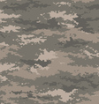 Pixel camouflage army universal seamless pattern vector image