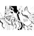 Steampunk art vector image