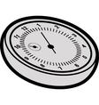 Cartoon stopwatch vector image