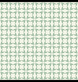 classic green design pattern background vector image