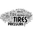 what every driver should know about tires text vector image