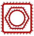 Red Frames vector image