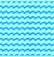 wavy line seamless pattern vector image vector image