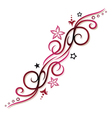 Tribal tattoo pink vector image