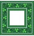 editable celtic borders vector image