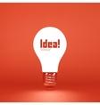 Idea concept 3d vector image vector image