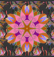 seamless flower pattern can be used for sketch vector image