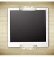 A photo frame vector image
