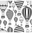Air balloon pattern vector image