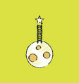 flat icon design collection planet and ladder in vector image vector image