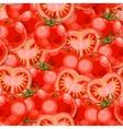 Seamless tomato vector image