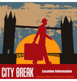 london break vector image