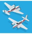 a airplanes Airplane vector image