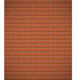 brick wall 03 vector image vector image
