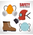 security industrial design vector image