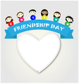 Friendship day vector image
